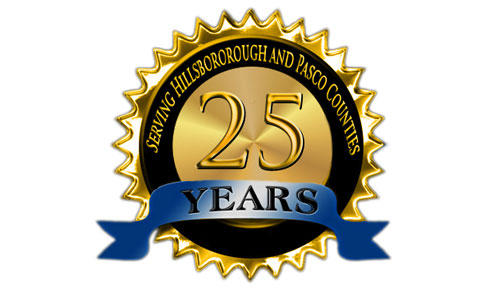 Serving Hillsborough and Pasco County for 25 years