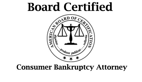 Board Certified Consumer Bankruptcy Attorney